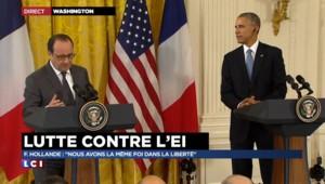 """Hollande : """"En attaquant la France, c'est le monde entier que les terroristes voulaient viser"""""""