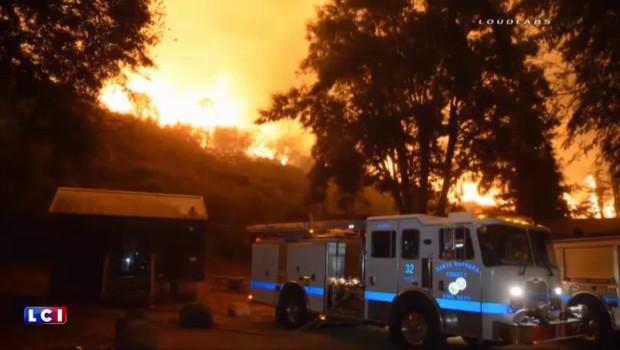 Incendies en Californie : l'état d'urgence déclaré près de Santa Barbara