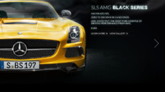 Mercedes SLS AMG Black Series site