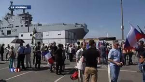 Pro-ukrainiens contre pro-russes à Saint-Nazaire