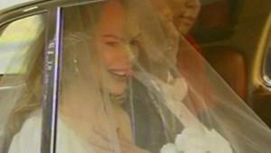 TF1/LCI Nicole Kidman le jour de son mariage
