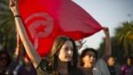 Tunisie manifestation drapeau illustration