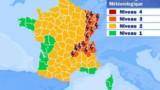 Alerte aux orages sur l'est de la France