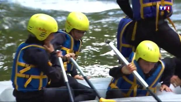 A la découverte du rafting dans les rivières du Morvan