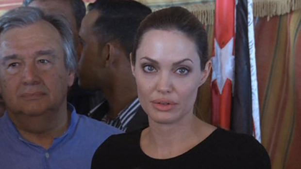 Angelina Jolie en Jordanie