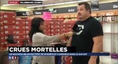 Crues dans les Alpes-Maritimes : ce magasin de chaussures a été dévasté