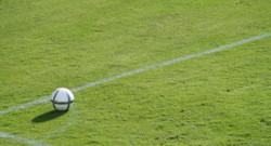 Football foot ballon rond terrain gazon