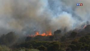 L'île de beauté en feu : les images