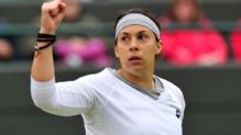Marion Bartoli à Wimbledon