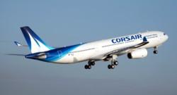Un avion de la compagnie Corsair