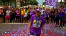A 92 ans et 65 jours, elle termine le marathon de San Diego, un record