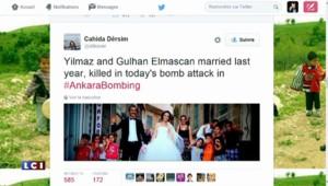 Attentat à Ankara : sur le web, entre hommages et accusations