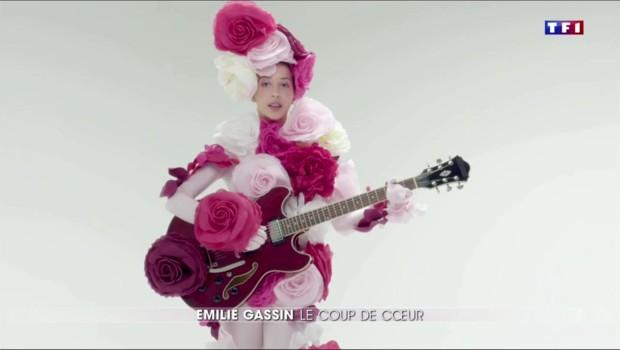 Emilie Gassin, l'ex-vedette du PSG devenue chanteuse