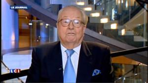 Jean-Marie Le Pen renvoie dos à dos PS et UMP