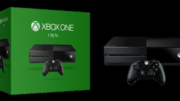 La nouvelle Xbox One de Microsoft sera dotée d'une capacité de 1 To