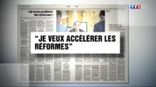 Le 20 heures du 20 août 2014 : Fran�s Hollande annonce ses mesures de la rentr�- 257.16604006958005