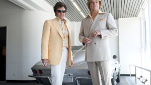 "Matt Damon et Michael Douglas dans ""Ma vie avec Liberace"" de Steven Soderbergh"