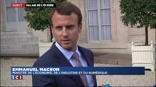 """Parachute doré chez Alcatel-Lucent : """"Anormal"""", """"inacceptable"""" et """"choquant"""", Macron hausse le ton"""