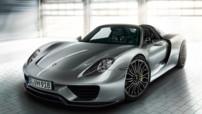 Porsche 918 Spyder, supercar hybride rechargeable de 887 chevaux lancé en septembre 2013