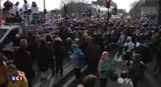 """Quelques centaines de militants """"pour la vie"""" défilent à Paris contre l'euthanasie"""