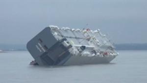 Cargo échoué à Southampton, 4/1/15