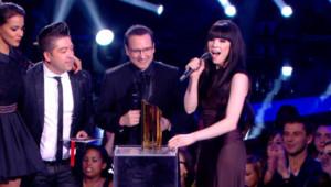 Carly Rae Jepsen lors des NRJ Music Awards 2013.