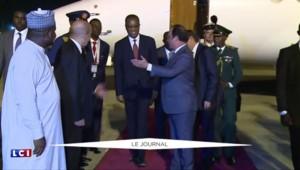Hollande au Nigeria pour un sommet sur la lutte contre Boko Haram