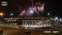 JO de Rio : les premières images du feux d'artifice de la cérémonie d'ouverture