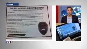 L'affaire Hollande/Gayet fait vendre des casques de scooter
