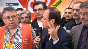 Petroplus : trois urgences selon François Hollande