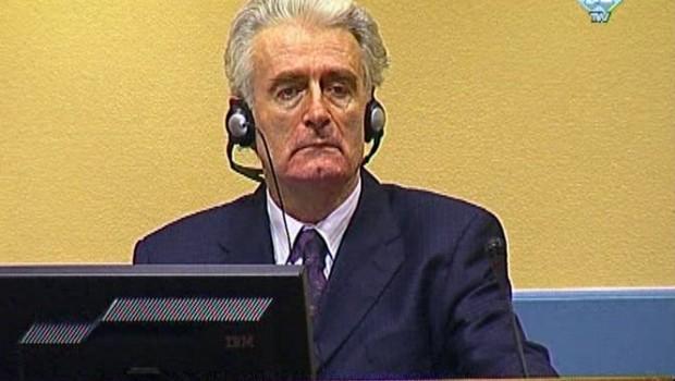 Radovan Karadzic au TPI.