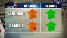 Bison Futé voit rouge sur les routes d'Ile-de-France ce week-end
