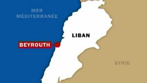 Liban: carte