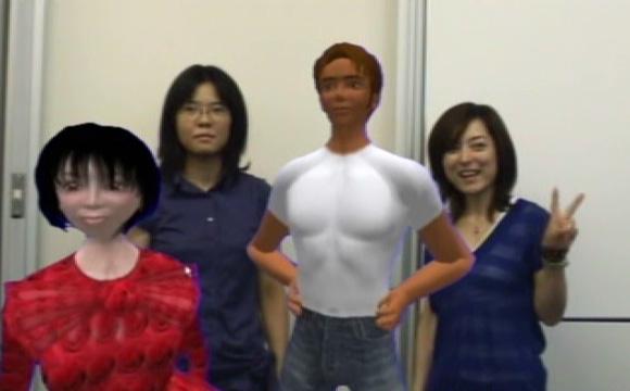 La réalitée augmentée vous confronte à des cybers-avatars
