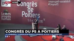 """Cambadélis : """"Marine Le Pen n'a pas tué le père, elle l'a bâillonné"""""""