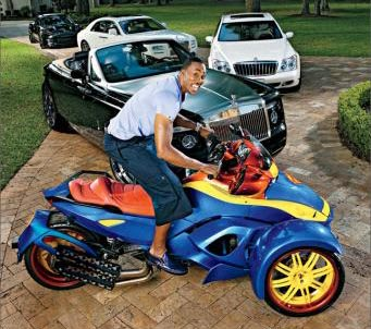 Dwight Howard en Can-AM Spyder
