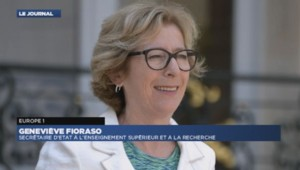 Geneviève Fioraso au micro d'Europe 1