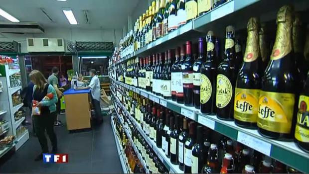 la vente d'alcool à emporter interdite le soir
