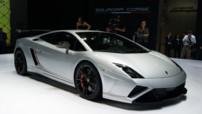 Lamborghini Gallardo LP 570-4 Squadra Corse au Salon de Francfort 2013