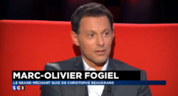 Marc-Olivier Fogiel, invité de La Médiasphère de LCI