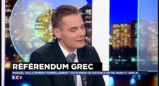 """Référendum : """"Une absence de confiance entre les Européens et le gouvernement grec"""""""