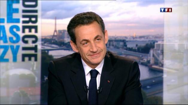 """Parole directe : Sarkozy s'adresse à """"la France qui souffre"""""""