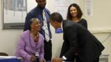 Obama a déjà voté (vidéo)