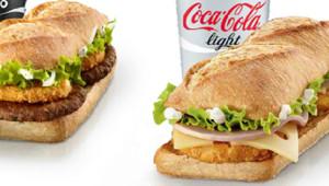 Avec ses sandwich baguette, McDonald's soigne son image en France