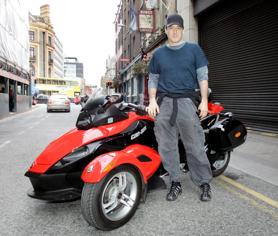 John Cuzak en Can-AM Spyder
