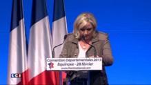 Marine Le Pen raille les critiques contre le Front national au Salon de l'Agriculture