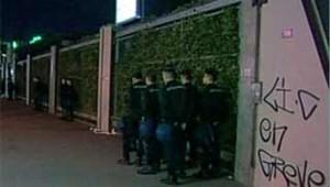 balzac evacuation gendarmes lycee paris