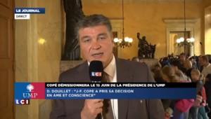 """Douillet : """"Jean-François Copé a pris sa décision en âme et conscience"""""""