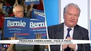"""États-Unis : """"C'est un peu choquant de voir le taux de soutien"""" de Bernie Sanders"""