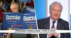 """États-Unis : """"C'est un peu choquant de voir le taux de soutient"""" de Bernie Sanders"""